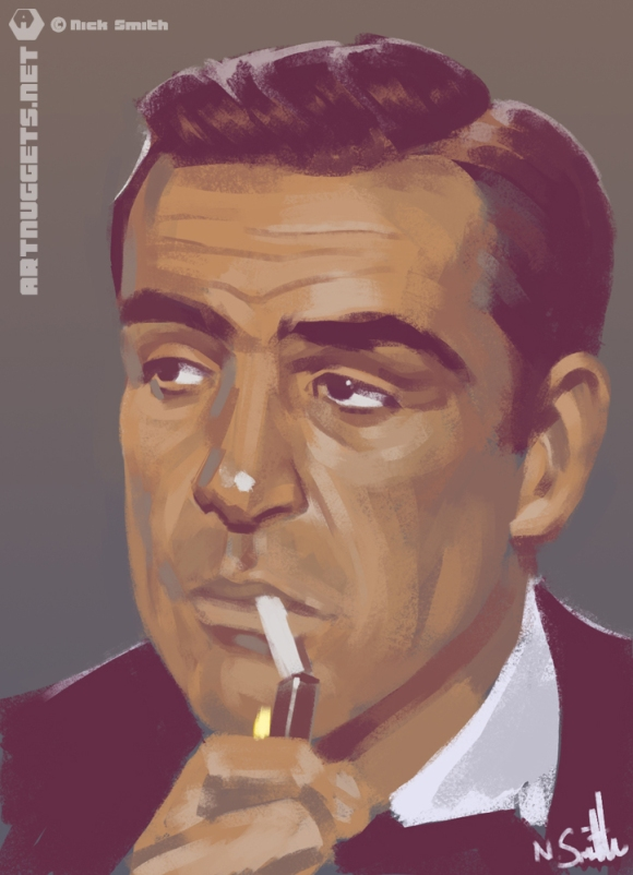 ArtNuggets-NickSmith-Connery