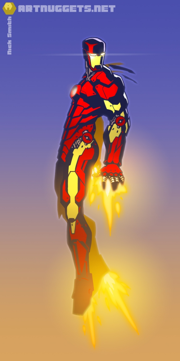 ArtNuggets-NickSmith-IronMan