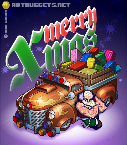 ArtNuggets-NickSmith-MerryXmas