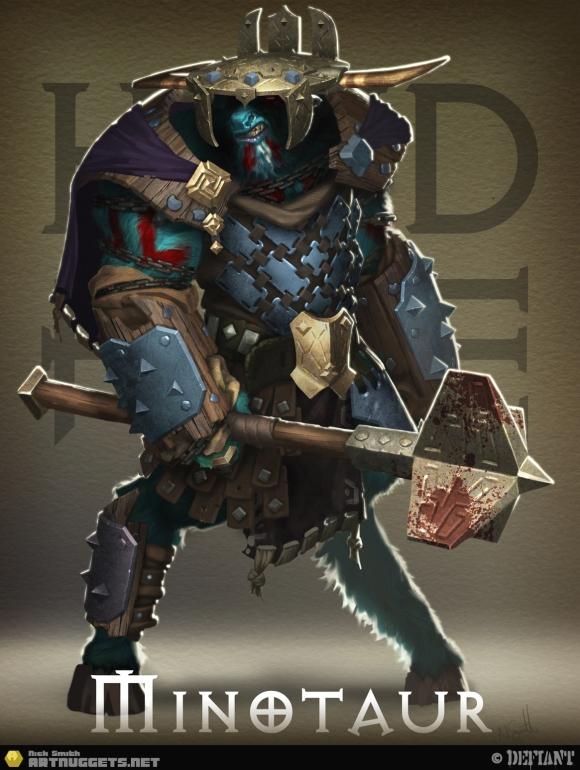 HoF-Minotaurs-D-King