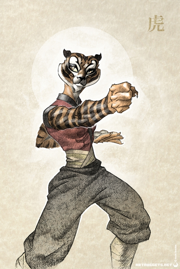 ArtNuggets-NickSmith-KFP-Tigress